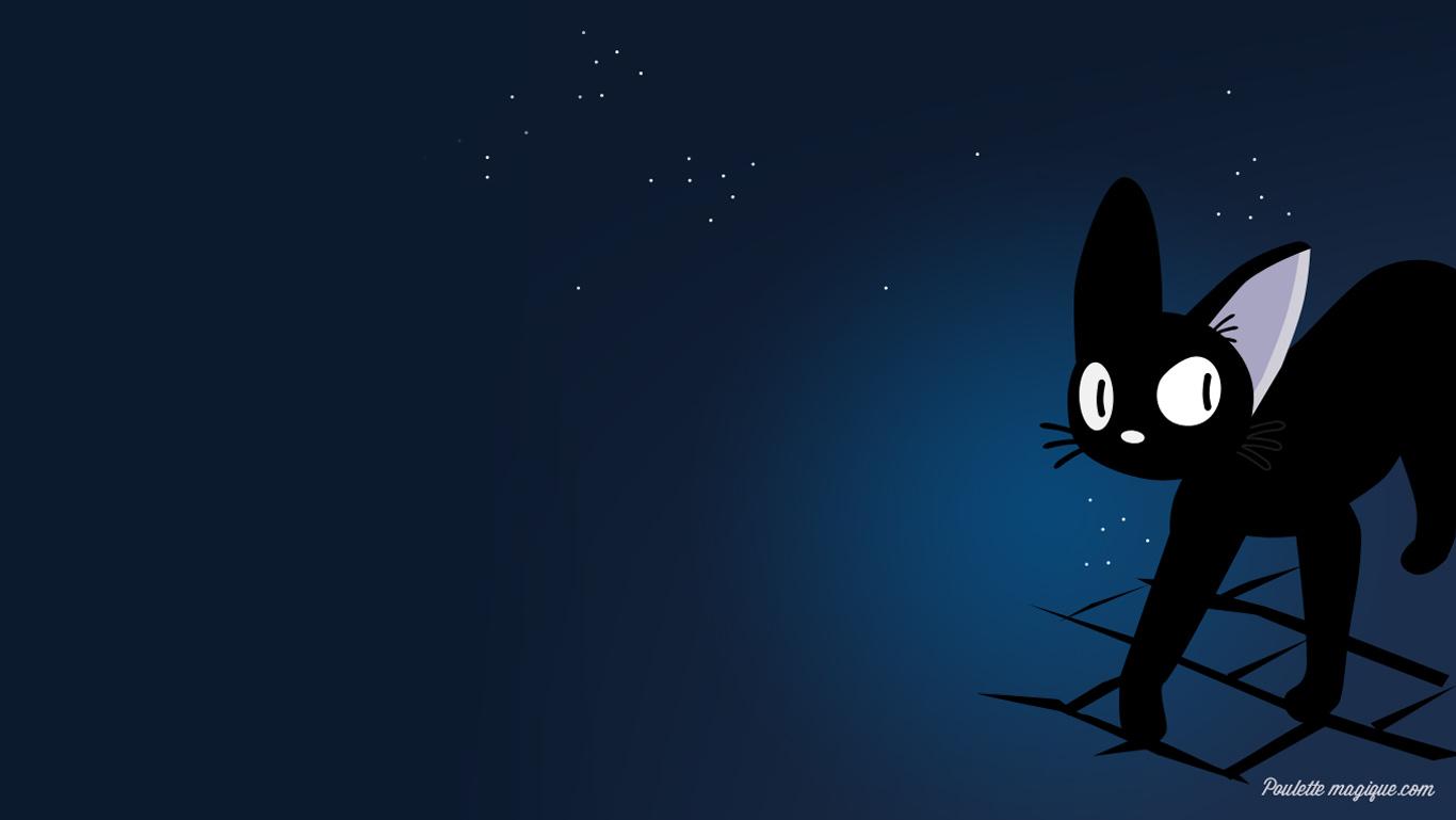 gigi le petit chat noir free wallpaper poulette magique. Black Bedroom Furniture Sets. Home Design Ideas