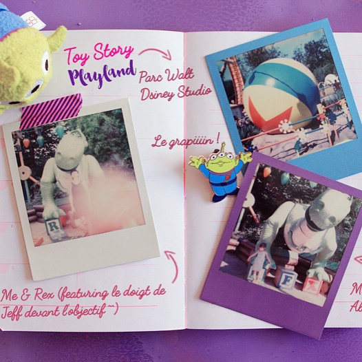 Toy Story Playland disneylandparis polaroid impossibleproject sx70