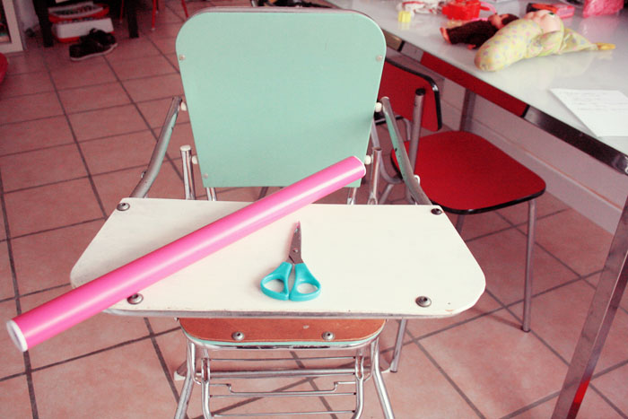 Instant girly 29 poulette magique - Relooker une chaise en formica ...