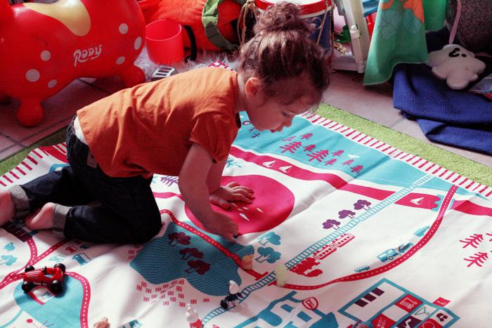 les tapis pour enfants revisites avec tapikid de deuz