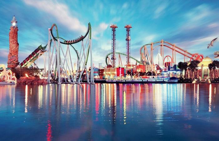 Comme une douce odeur de vacances poulette magique - Parc d attraction espagne port aventura ...