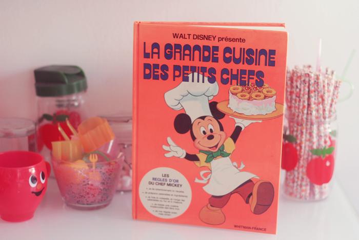 Livre Cuisine Des Petits Chefs Disney Poulette Magique