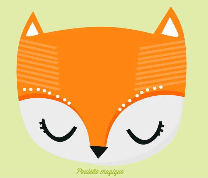 Renard Chenapan Freebies Wallpapers Inside Poulette