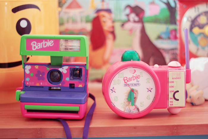 polaroid-barbie et reveille barbie