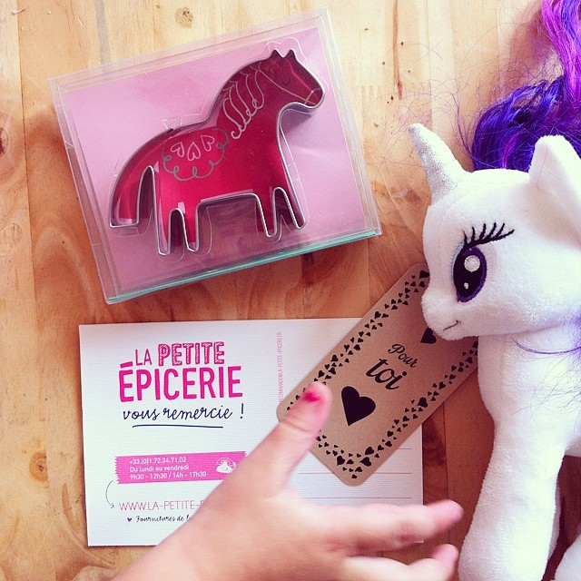 ?Ça sent la pony party ici ! Merci @lapetiteepicerie ? #mlp #birthday