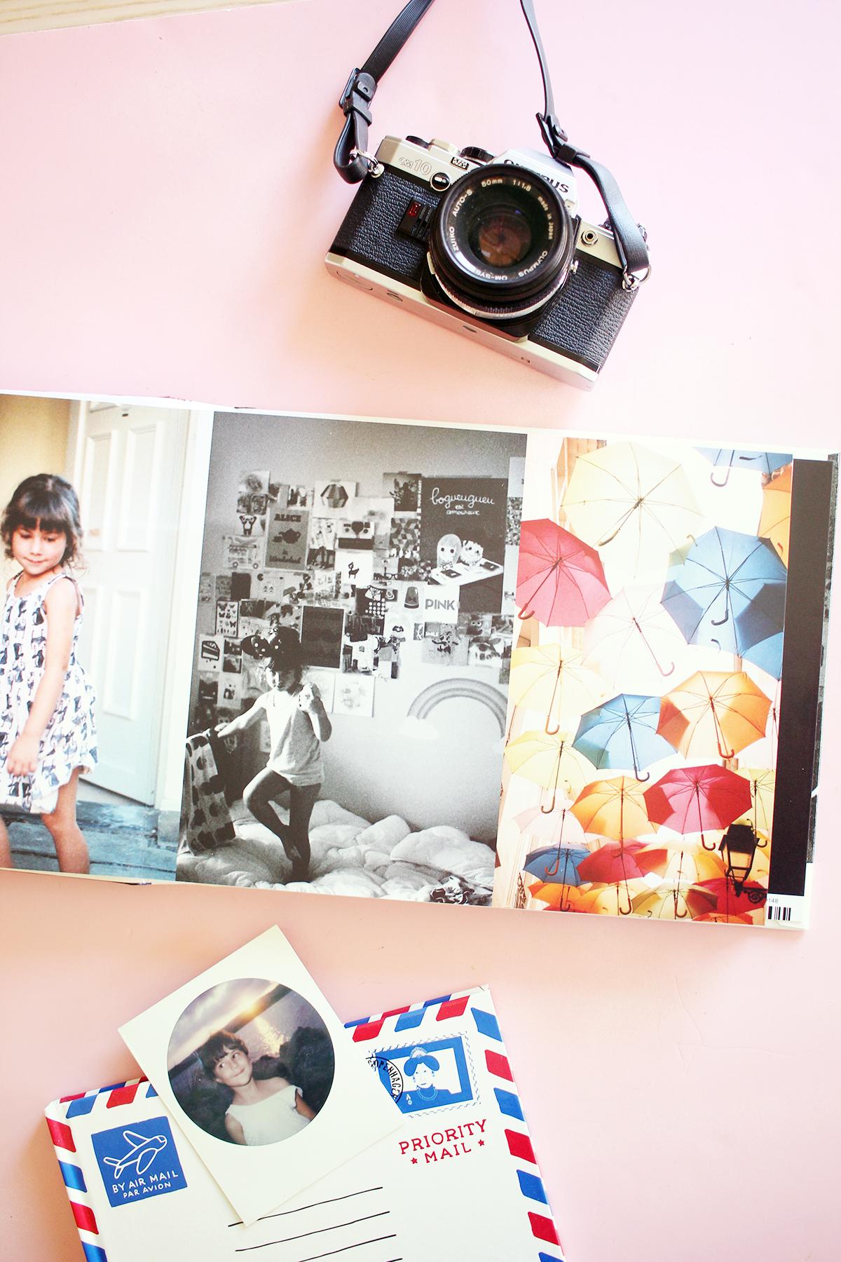 mettre ses summer memories dans un livre poulette magique. Black Bedroom Furniture Sets. Home Design Ideas