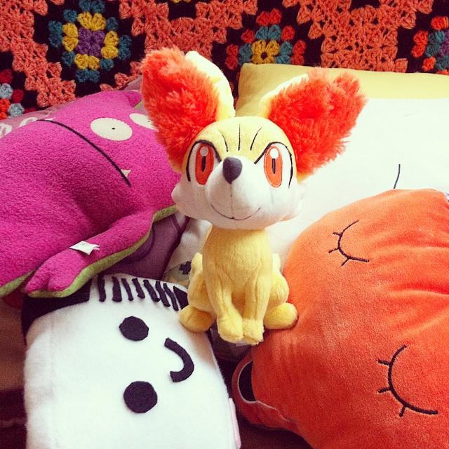 Little feunnec ? #pokemon #uglydoll #fox