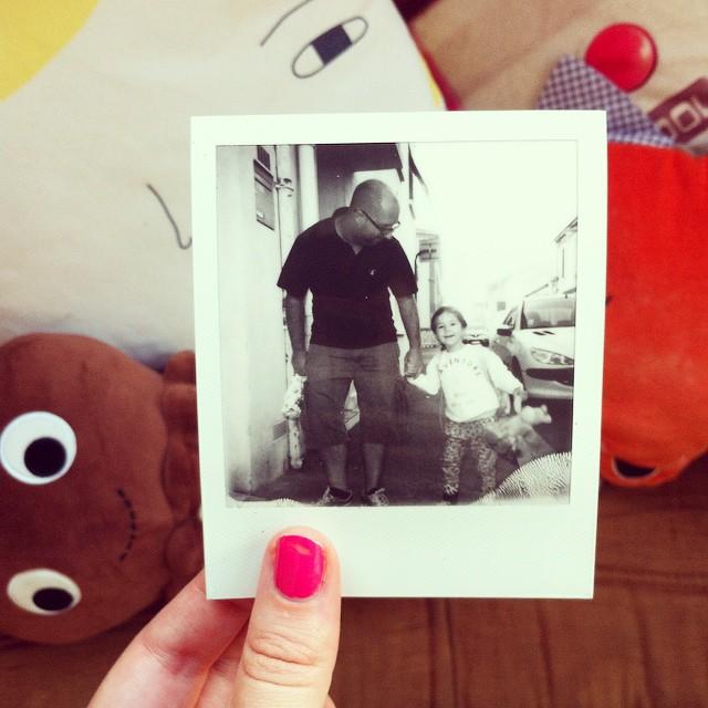 Bonne rentrée à tous les kids ! Ici ça c'est hyper bien passé✌#pola #polaroid #impossibleproject
