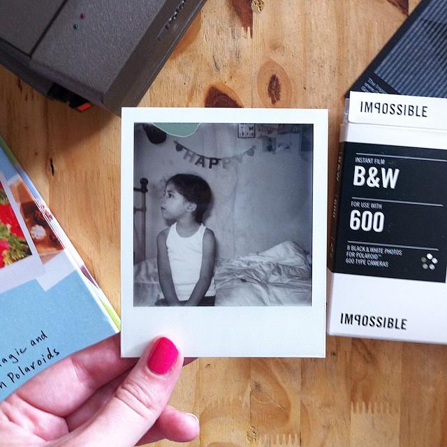 Premier test des films Impossible version B&W ? #impossible #polaroid