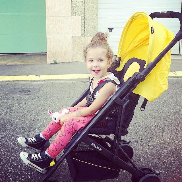 ? Ce soir on a testé la nouvelle poussette de Recaro et elle est dingue ! ? #easyliferecaro #stroller