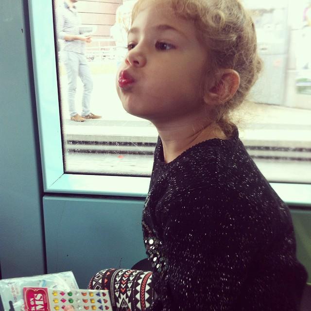 Premier tour en tramway ? #montpellier