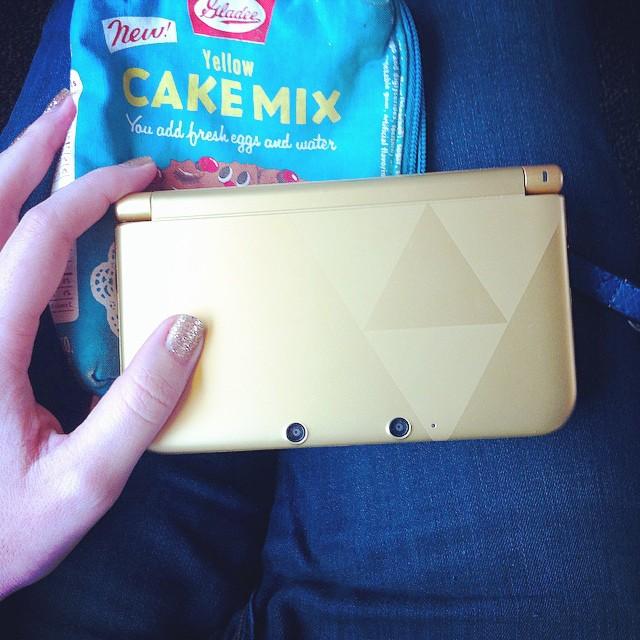Toujours assortir son vernis à sa 3DS ? #dansletrain #blogokidsfree #3dszelda
