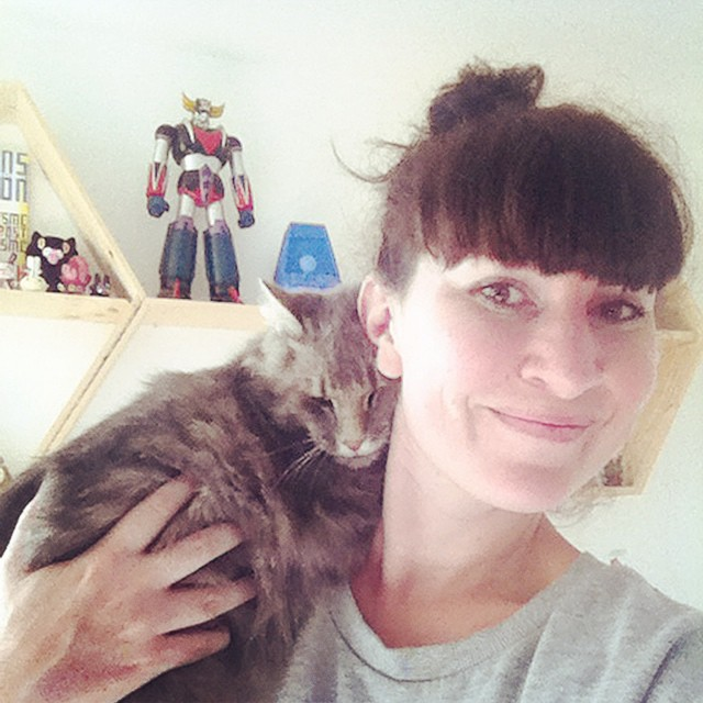 Pixel le chat qui pourrait vivre sur mon épaule ?