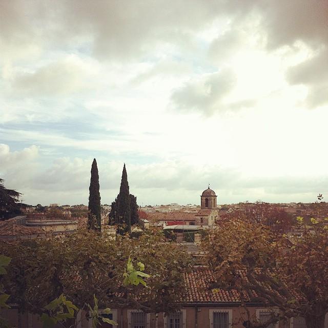 Cool cool après-midi avec @lafillerenne au Peyrou ??? #montpellier