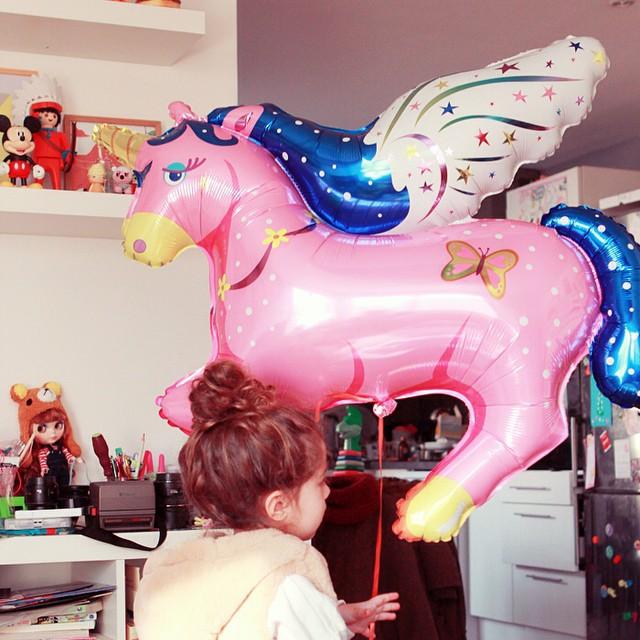 Sur le blog un nouvel instant girly ! ????? #poulettemagique #unicorn