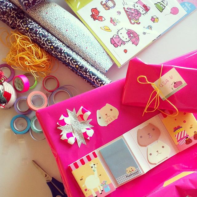 Cette année les paquets cadeaux seront kawaii ! ?? #hellokitty #kawaii cc @leclubdessottes ?