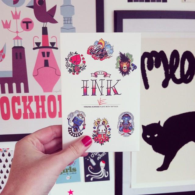 Je connais une certaine petite fille qui va adorer se faire tatouer... #tellemeretellefille #tocaink #tocaboca