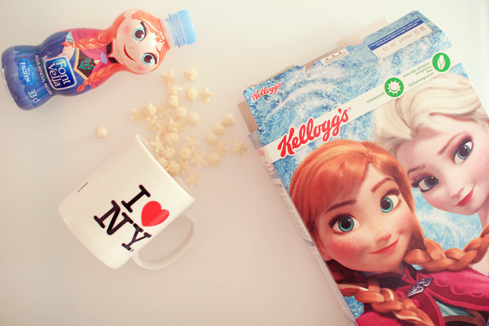 reine-des neiges kellogs