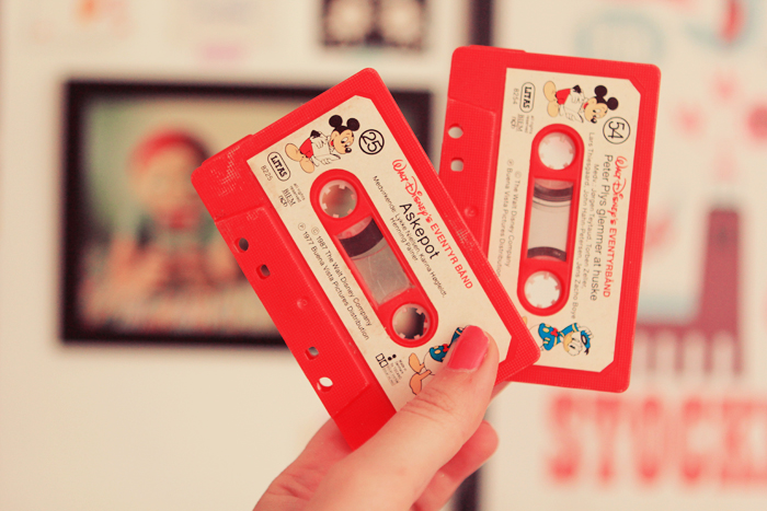 walt isney cassettes