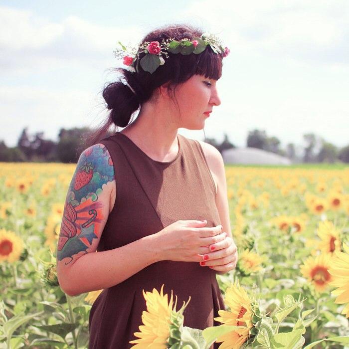 BLOG je vous amne dans un champ de tournesols pourhellip