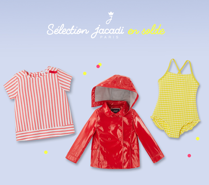 selection jacadi solde carre