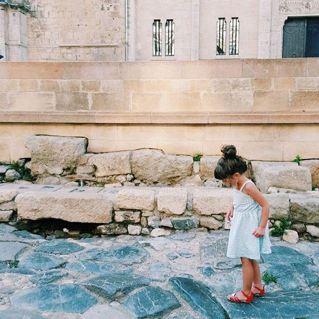 Hier on a march sur les pas des romains pourhellip