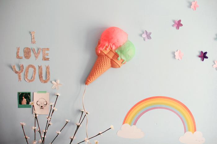 lampe ice cream vintage 7
