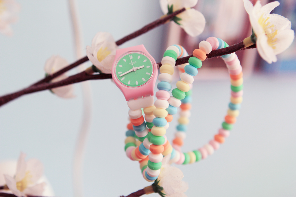 montre bonbon swatch