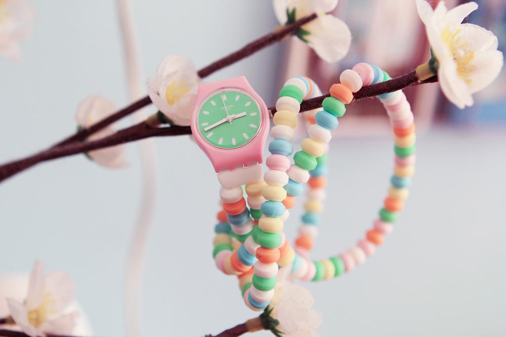 montre bonbon swatch
