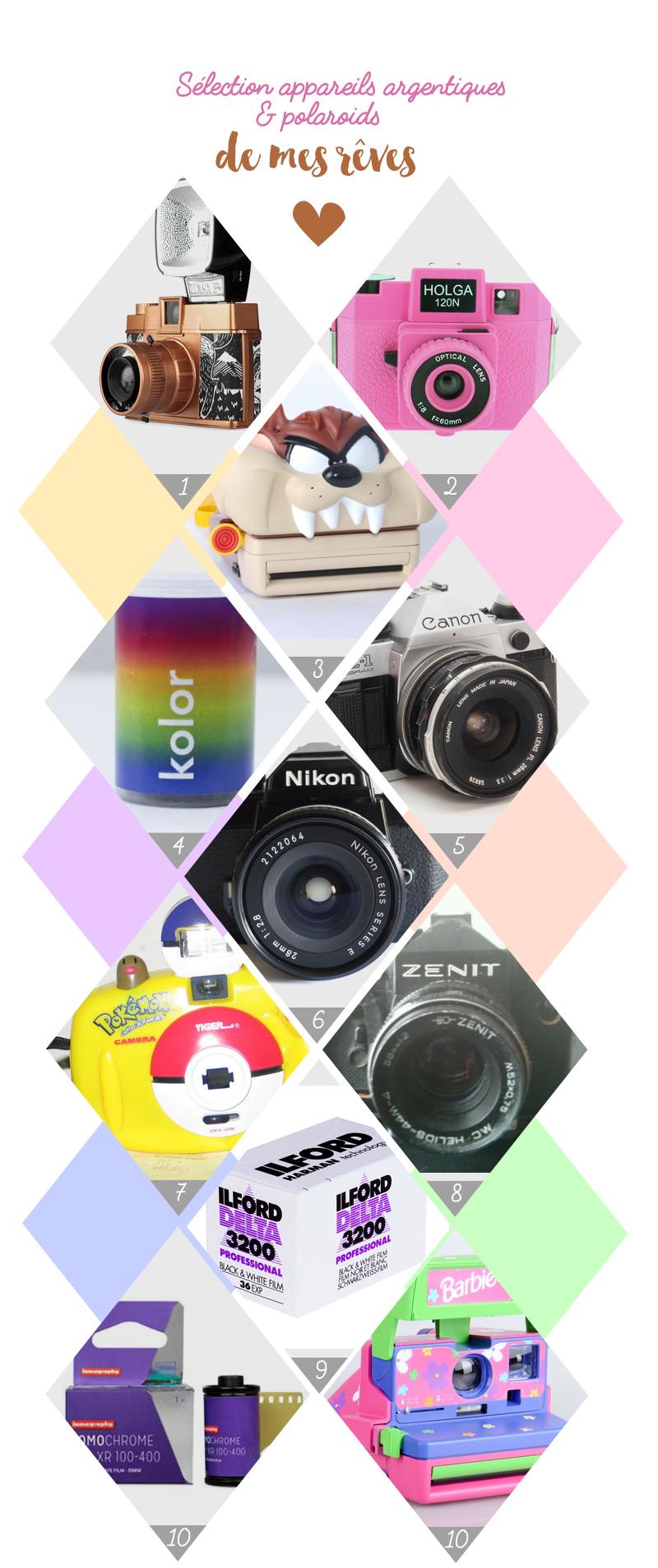 selection ebay appareil photo argentique