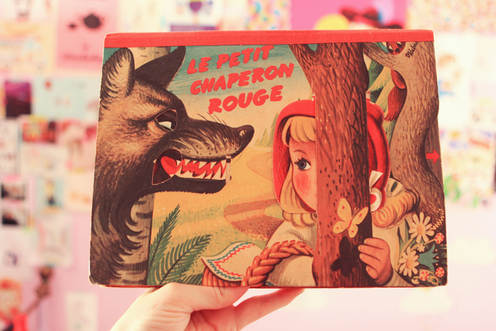 chaperon rouge pop up