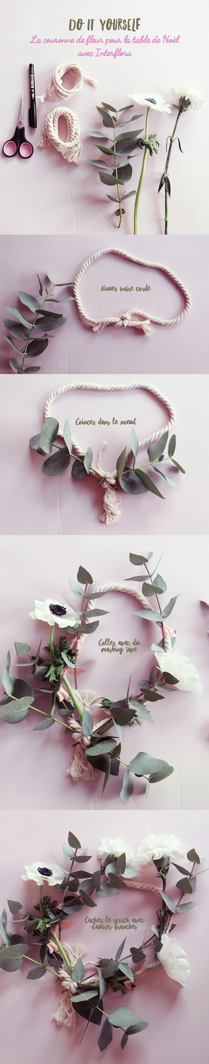 interflora diy couronne poulette magique