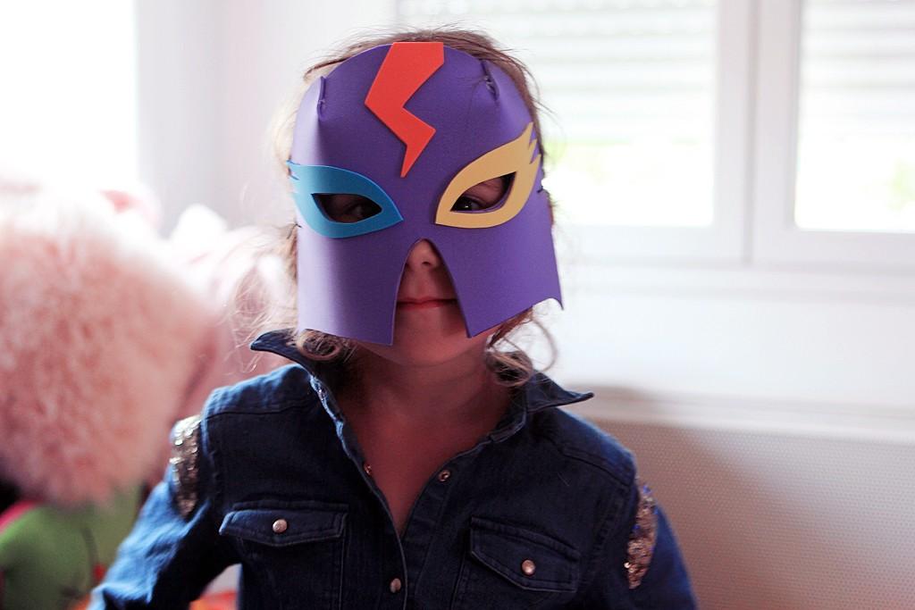 masque super heros