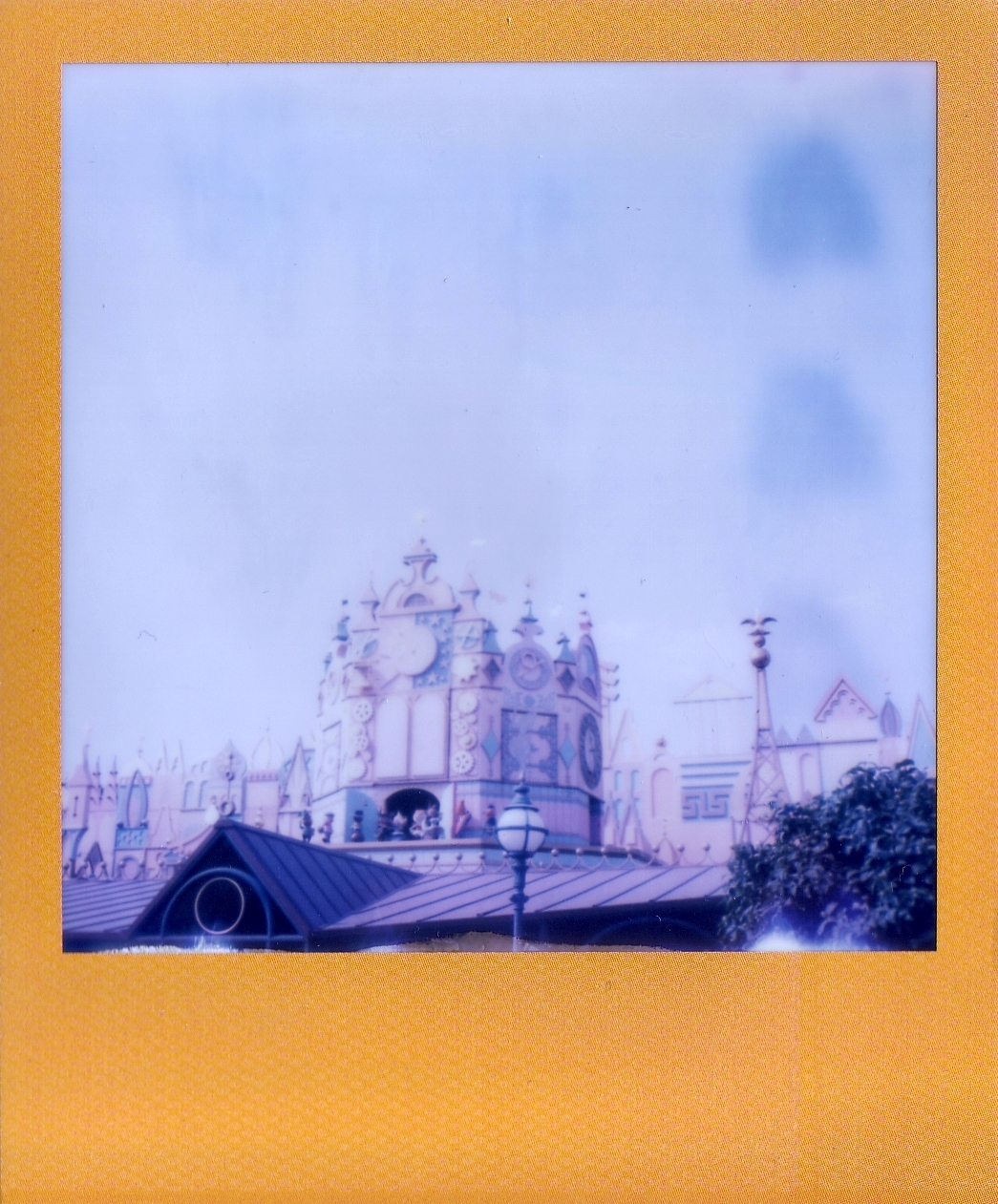 disneyland polaroid sx70-6