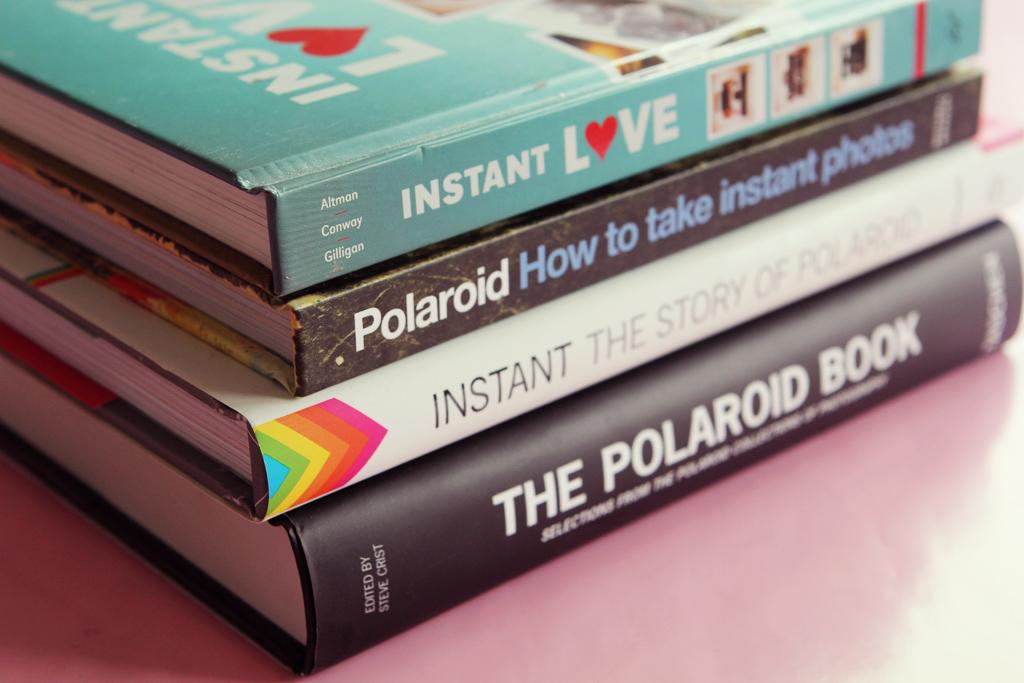 polaroid 4 livres pour débuter 1