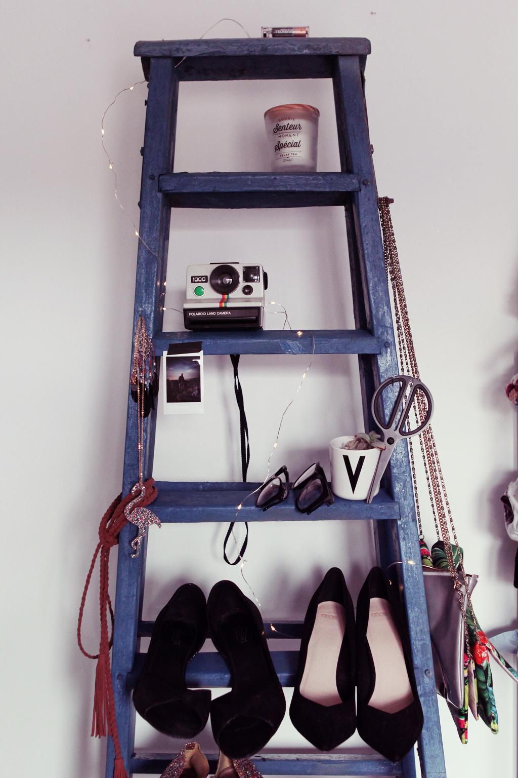 DIY échelle bois pour chaussures 6