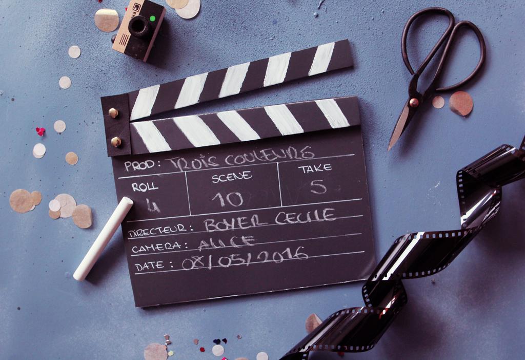 DIY clap de cinema -1