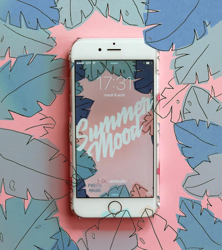 fond ecran iphone poulette magique 2