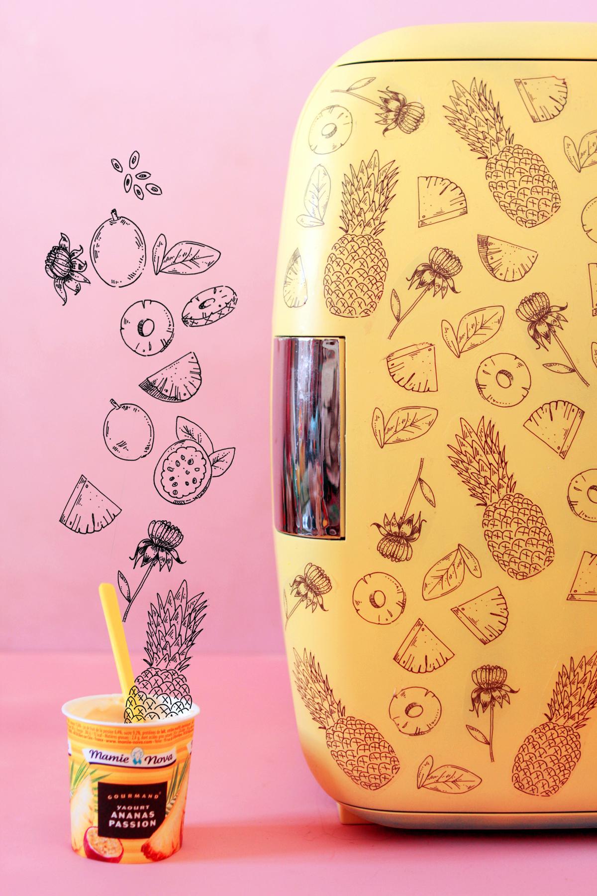 diy   tatoo ton frigo avec mamie nova  u2013 poulette magique