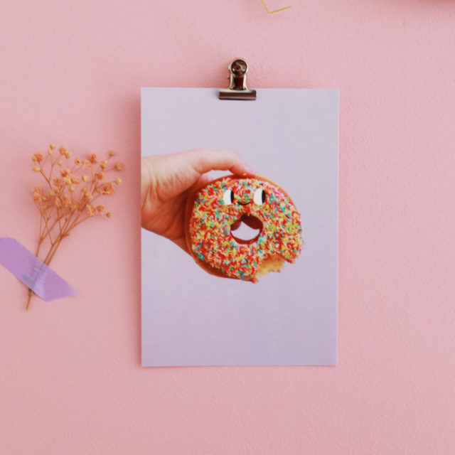 Carte postale donuts london