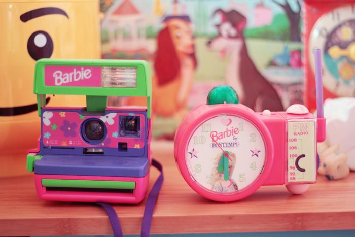 polaroid-barbie et reveille barbie