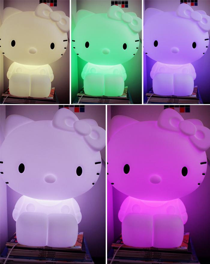 Storslået La lampe géante Hello Kitty chez Tamtokki – Poulette Magique EC87