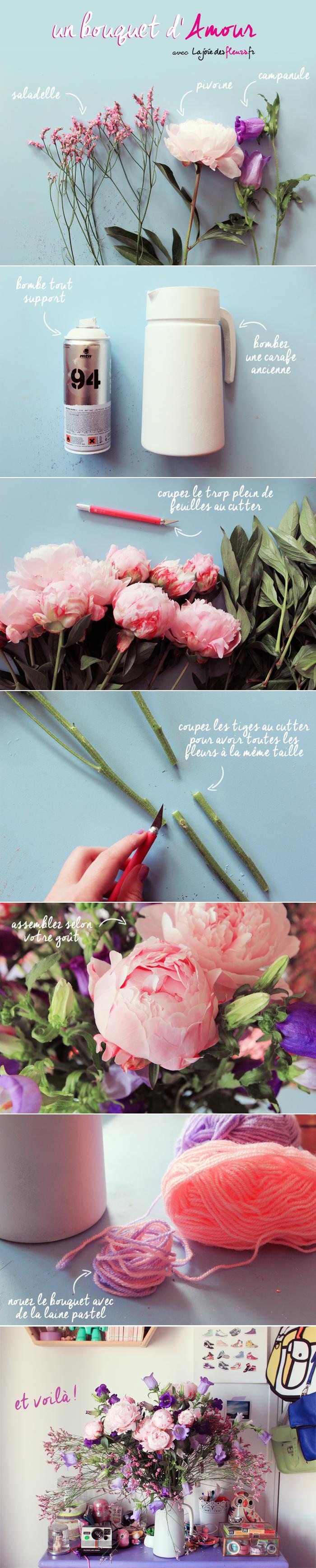 diy-bouquet fete des mere joie des fleurs