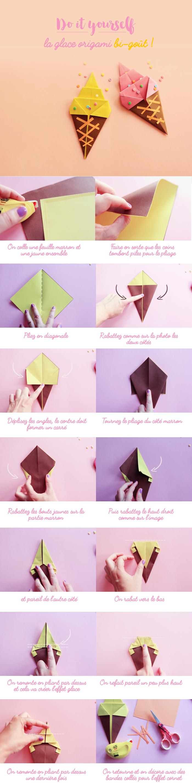 ice-cream-origami-do it yourself