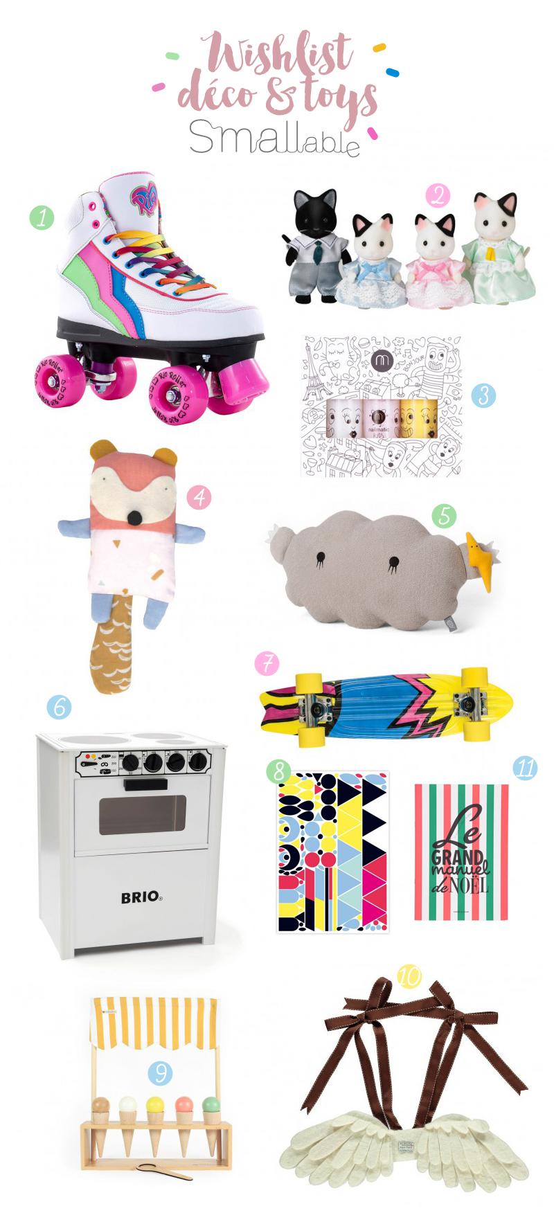 wishlist-deco et toys noel chez smallable