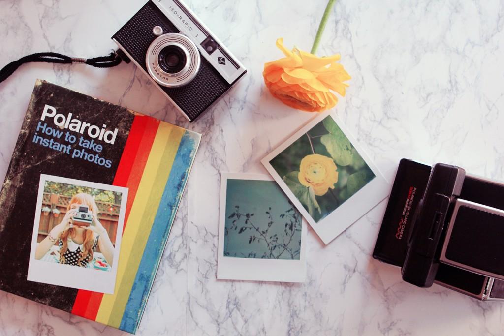 polaroid how to tae instant photos