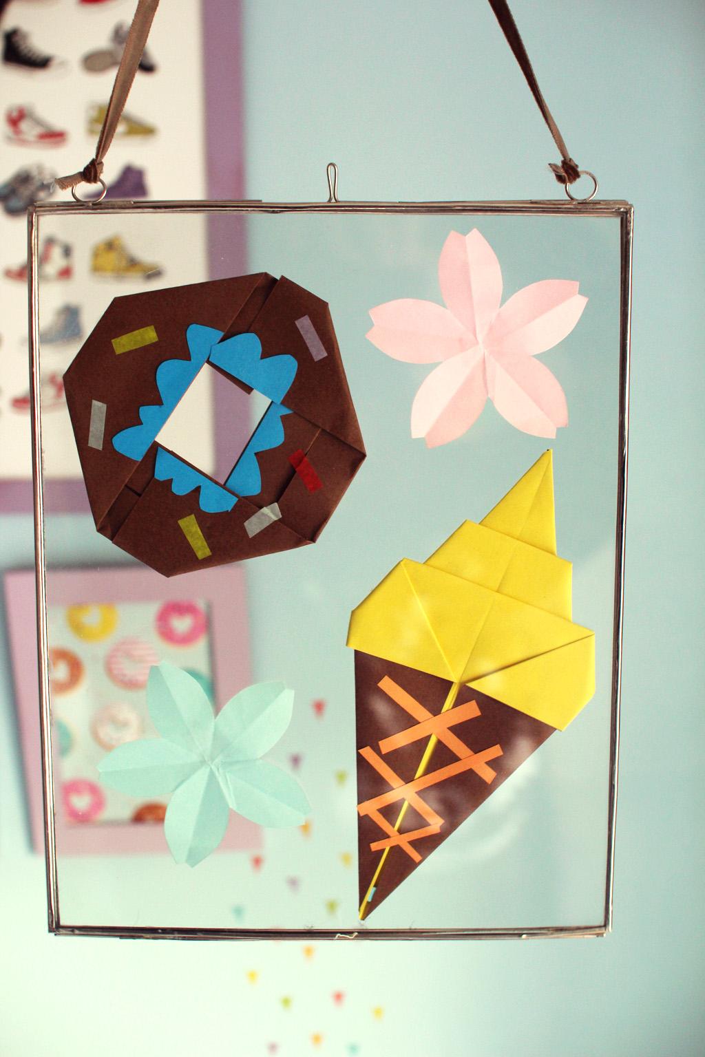 cadre indien origami 6