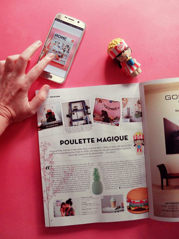 instant girly home magazine