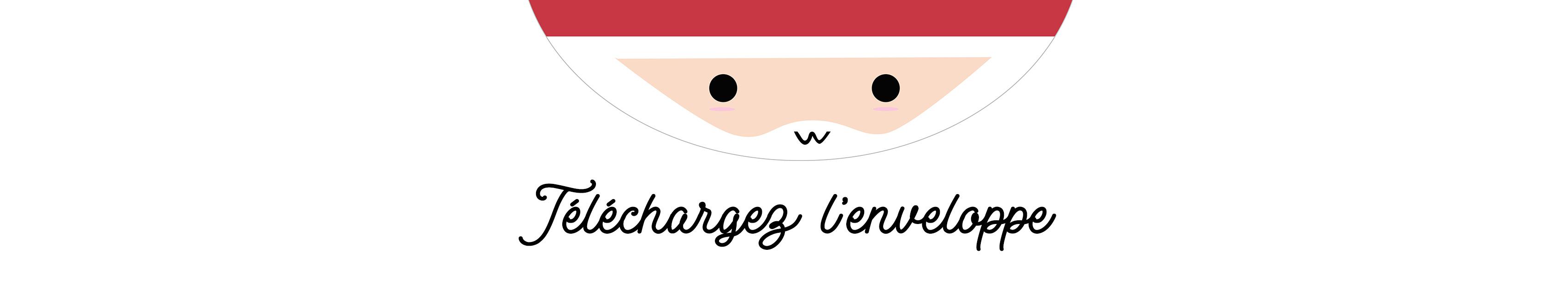 Remarquable DIY : l'enveloppe du Père Noël – Poulette Magique TQ-02