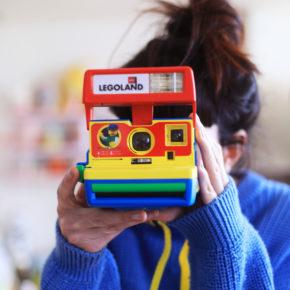 Polaroid legoland lego vintage